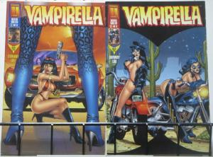 VAMPIRELLA (Harris, 1997) #24-25 Death Valley VF-NM! Complete Story w/ Pantha
