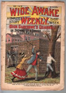Wide Awake Weekly #143 1/8/1909-Tousey-Dick Daresome's Quarrel-early pulp-FR/G