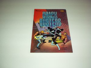 CRACK BUSTERS Comic #1, 1986 New, Unread