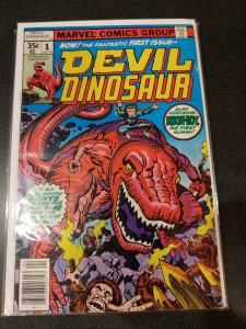 DEVIL DINOSAUR #1 1978 1st Appearance MOON BOY & DINO VF NM
