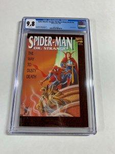 Spider-man/Dr. Strange Way To Dusty Death NN 1 Cgc 9.8 Wp Marvel