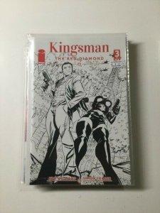 Kingsman Red Diamond 3 Variant Near Mint Image Comics HPA