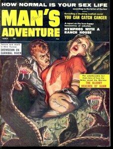 MAN'S ADVENTURE 1962 MAR-COBRA VF