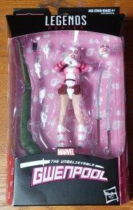 Marvel Legends: Unbeliebable Gwenpool