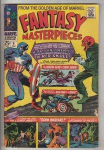 Fantasy Masterpieces #6 (Dec-66) FN Mid-Grade Captain America, Bucky Barnes