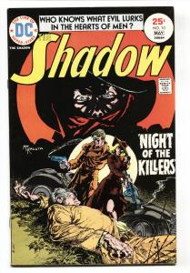 SHADOW #10 comic book 1975-DC-Kaluta cover