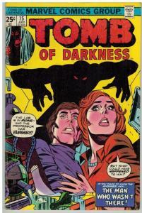 TOMB OF DARKNESS 15 VG-F July 1975