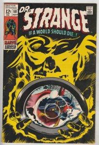 Doctor Strange #181 (Jul-69) NM- High-Grade Dr. Strange in full costume
