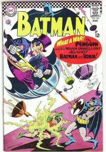 Batman # 190 Strict FN/VF- High-Grade The Penguin Artist Bob Kane just in