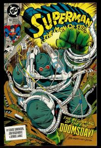 Superman Man of Steel #18 1st Full Doomsday (Dec 1992, DC)  9.2 NM-