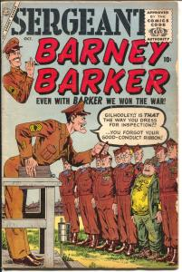 Sergeant Barney Barker #2 1956-Atlas-John Severin-Stan Lee-historic-VG