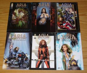 Aria: the Soul Market #1-6 VF/NM complete series - jay anacleto - image comics