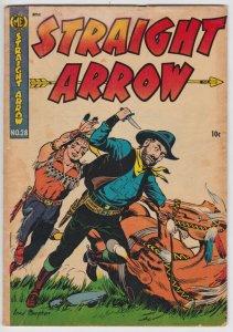 Straight Arrow #28 (Jan 1953) 2.5 GD+ Magazine Enterprises Western