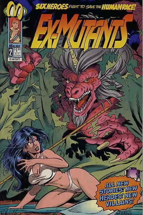 Ex-Mutants (Malibu) #2 VF/NM; Malibu | save on shipping - details inside