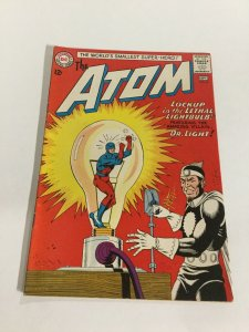 The Atom 8 Vf Very Fine 8.0 DC Comics Silver Age