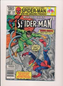 MARVEL TALES SPIDER-MAN #134 1981  VERY GOOD/FINE  (SRU604)