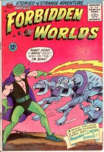 FORBIDDEN WORLDS 130 VG   September 1965 COMICS BOOK