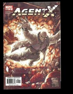 Lot Of 7 Agent X Marvel Comics # 9 10 11 12 13 14 15 X-Men Deadpool Action EK10