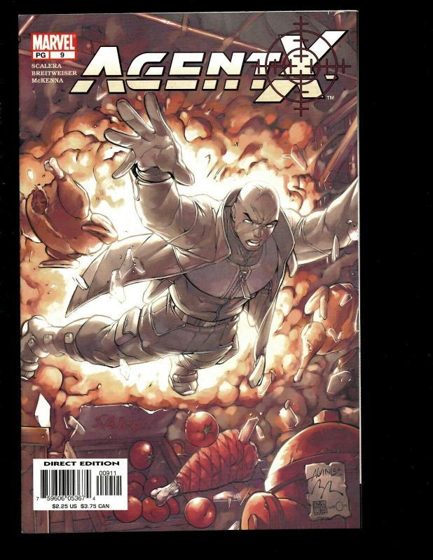 Lot Of 7 Agent X Marvel Comics # 9 10 11 12 13 14 15 X-Men Deadpool Action EK10
