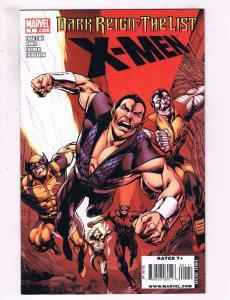 X-Men #1 VF Marvel Comics Dark Reign The List Comic Book Fraction DE15