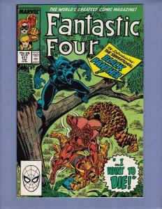 Fantastic Four #311 NM- Black Panther Dr Doom Marvel 1988