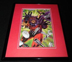 Magneto Framed 11x14 ORIGINAL 1993 Marvel Masterpieces Cover