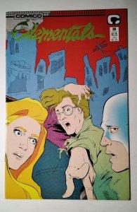 Elementals #28 (1988) Comico Comic Book J756