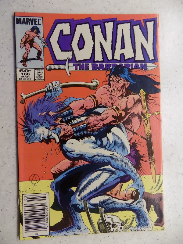 CONAN THE BARBARIAN # 168 MARVEL SAVAGE SWORD FANTASY