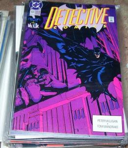 DETECTIVE COMICS  # 633 BATMAN 1991 --  GOTHAM TV
