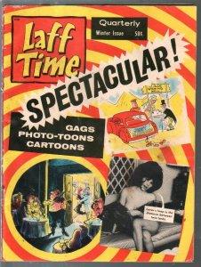 Laff Time-Winter 1966-Bob Powell-comic strips-cartoons-gags-jokes-VG