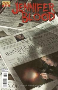 Jennifer Blood (Vol. 1) #31 VF/NM; Dynamite | save on shipping - details inside