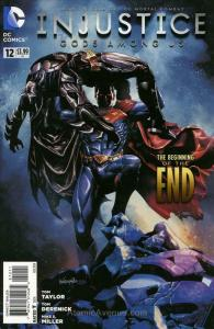 Injustice: Gods Among Us #12 VF/NM; DC | save on shipping - details inside