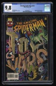 Amazing Spider-Man #413 CGC NM/M 9.8 White Pages