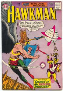 HAWKMAN #2 EMPIRE STATE BUILDING ON COVER  ALIENS 1964 FN/VF