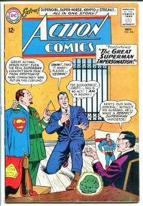 ACTION COMICS #306 1963-Superman-Kryptonite cover-l@@k! VG