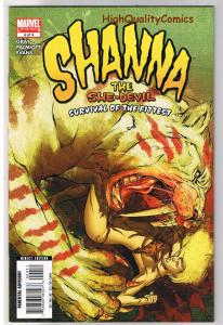 SHANNA the SHE-DEVIL #4, NM, Survival of the Fittest, 2007, more in store
