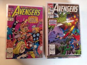 Avengers 301-350 Missing 316 VF/NM Lot Set Run 301 335 326 344
