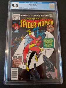 ​SPIDER-WOMAN #1 CGC 9.0 ORIGIN OF SPIDER-WOMAN