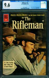 Rifleman #8 CGC 9.6 Chuck Connors 1961 Dell-2001738003