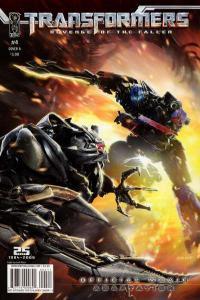 Transformers: Revenge of the Fallen #4, VF (Stock photo)