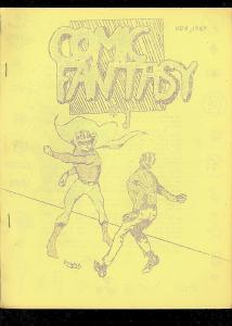 COMIC FANTASY FANZINE #1 1967-MARVEL PRODUCTS-TORCH STY FN