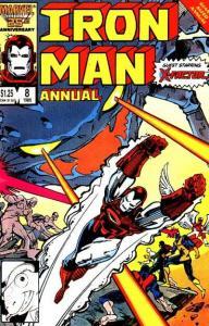 Iron Man (1968 series) Annual #8, VF+ (Stock photo)