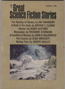 Great Science Fiction Stories 3 Bradbury, Clarke, Brackett