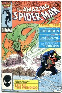 AMAZING SPIDER-MAN #277 1986-MARVEL COMICS VF