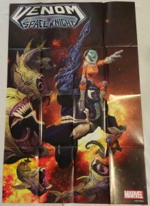 VENOM SPACE NIGHT Promo Poster, 24 x 36, 2015, MARVEL, Unused 148