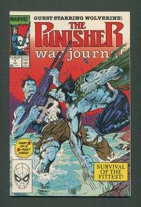 Punisher War Journal #7  / 9.4 NM / July 1989