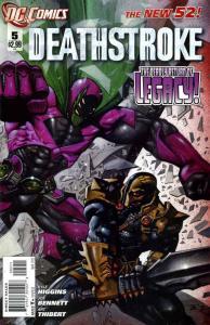 Deathstroke #5 (VF/NM) 2011 DC Comics ID#000
