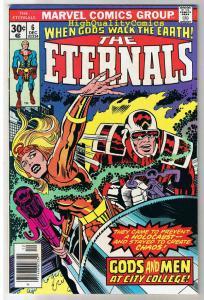 ETERNALS #6, FN, Jack Kirby, Gods and Men, 1976, more JK in store