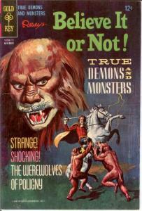 RIPLEYS BELIEVE IT OR NOT 7 VG-F Nov. 1967 COMICS BOOK