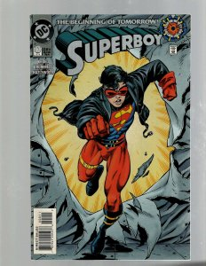 Lot Of 2 Superboy DC Comic Books # 0 9 NM 1st King Shark Appearances Arrow J450